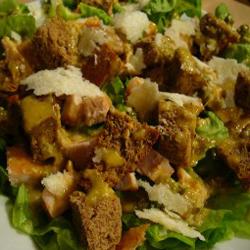 Csirkés caesar saláta