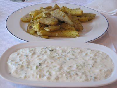 Πατάτες στο φούρνο με γιαούρτι